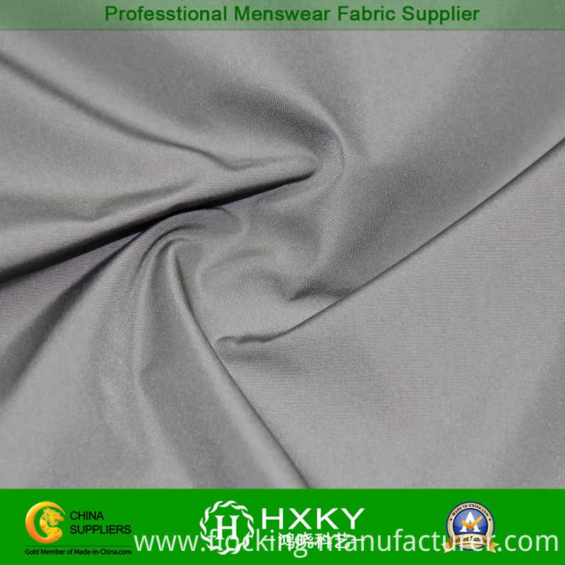 100%Polyester Memory Fabric for Men's Jacket or Down Coat