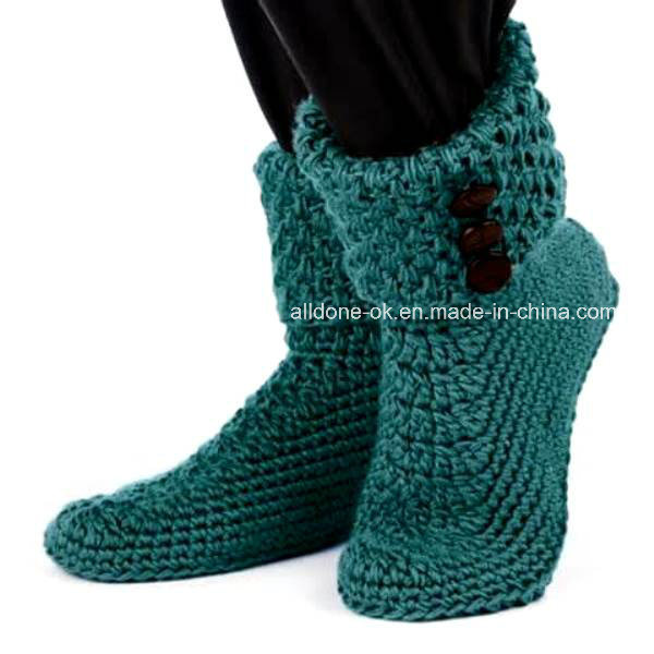 Custom Hand Crochet Boots Socks Shoes Booties Slippers Sneakers Sandals