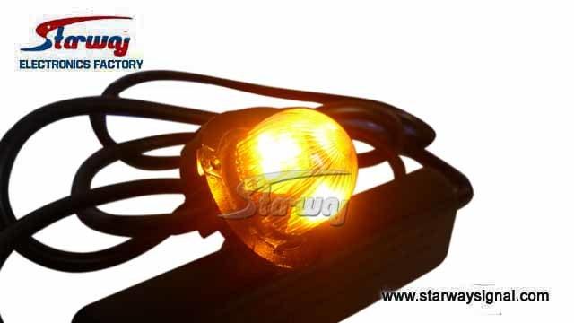 Warning LED Hideaway 9 Strobe Lights (LED367B)