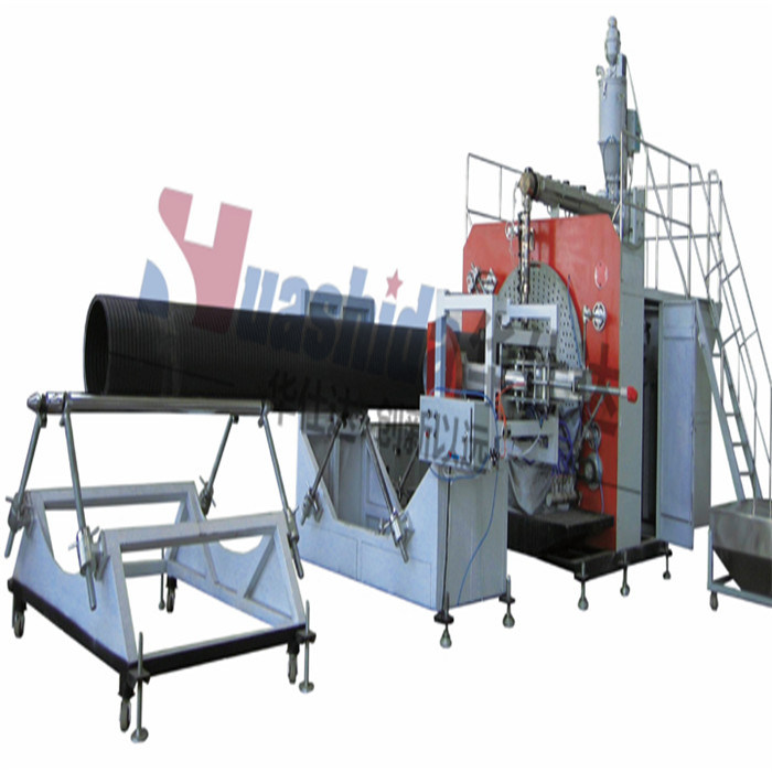 HDPE Plastic Pipe Production Line Silicon Core Pipe Extrusion Equipment