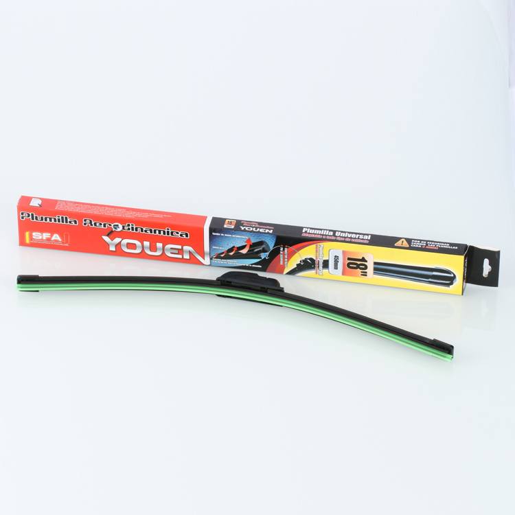 Combo U/J Hook OEM Bracketless Windshield Wiping Blades