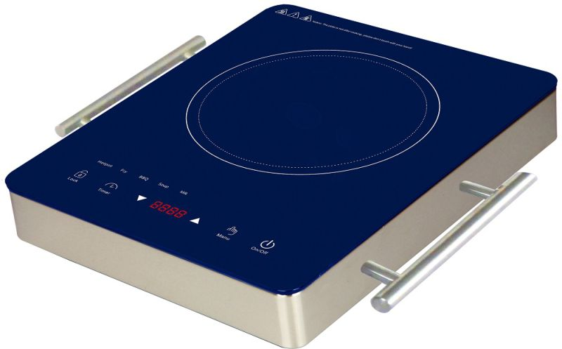 1800W Portable Induction Cooktop Countertop Burner - 120V / 60Hz - Black ETL