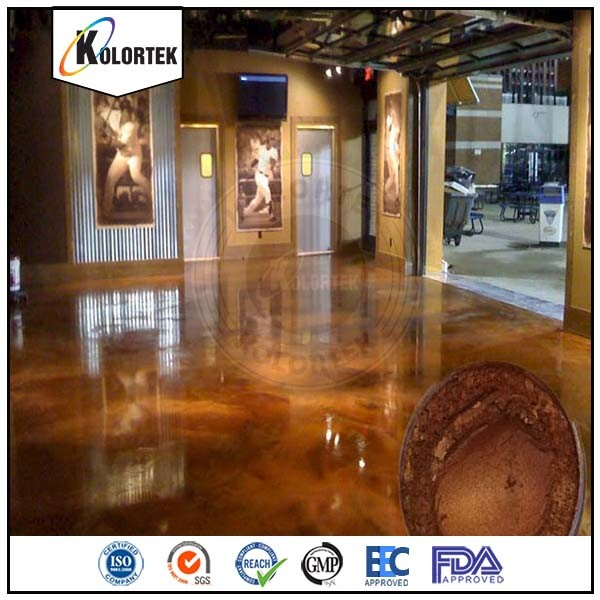 Pearl Effect Metallic Epoxy Flooring Pigment