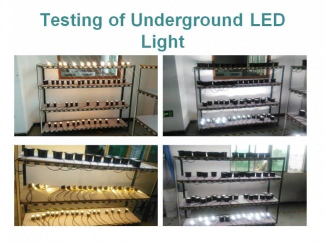 Outdooor Ground IP67 10W RGB White LED Underground for Garden/Plaza/Courtyard/Lawn