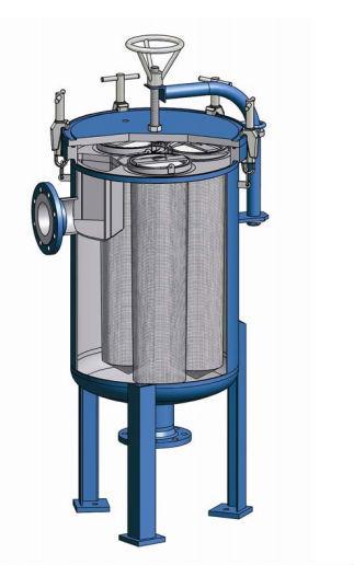 Drinking Water Purifying Bag Filter, Bag Cartridge Filter, Bag Filter Housing