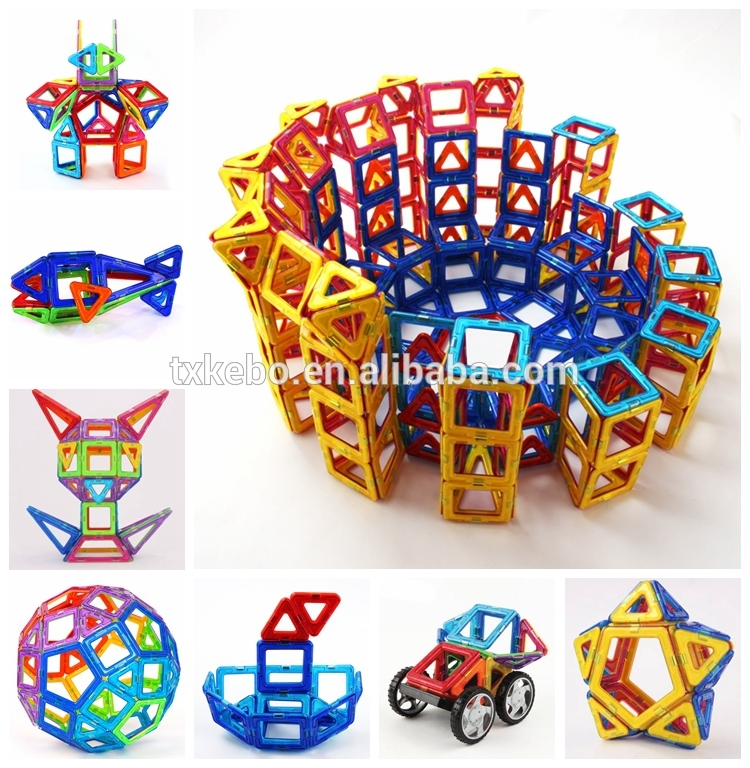 Kids Magnetic Triangle Toy Set Game