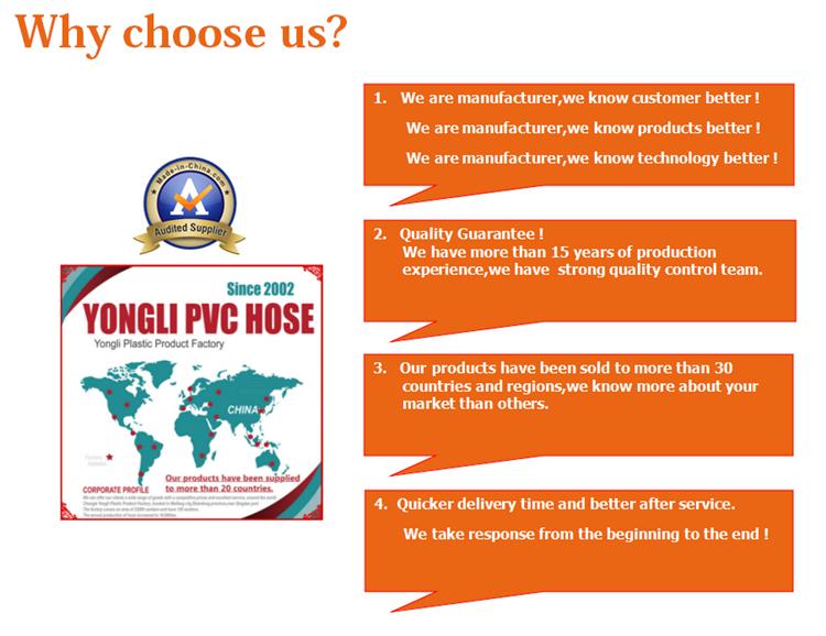 Best Price Nylon Colored Flexible Plastic HDPE PVC Garden Hose