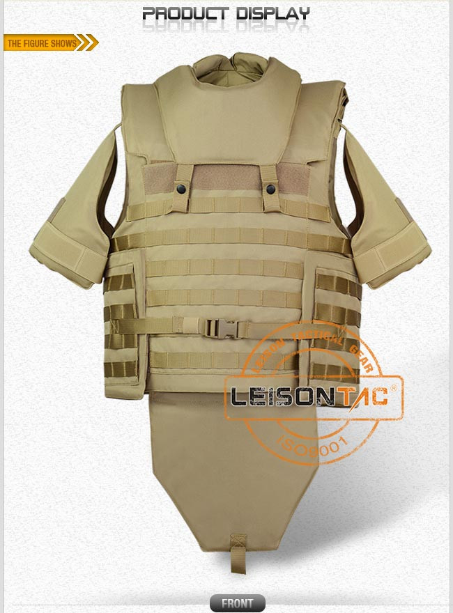 Ballistic Vest Adopts Kevlar or Tac-Tex and Bullet Proof Vest Has Passed USA HP Lab Test
