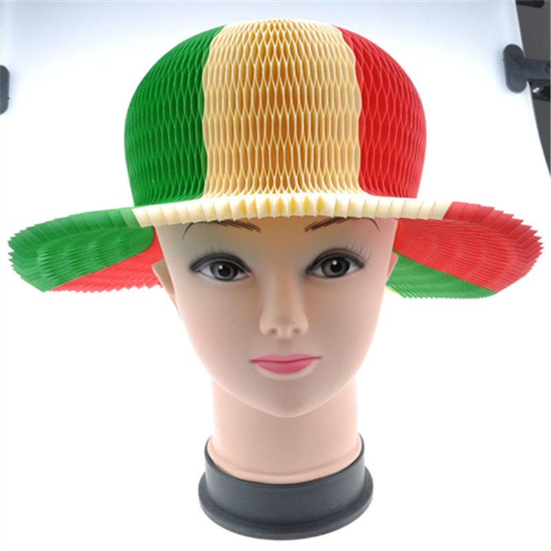 Summer Foldable Paper Hat Part Hat for Kids Gift