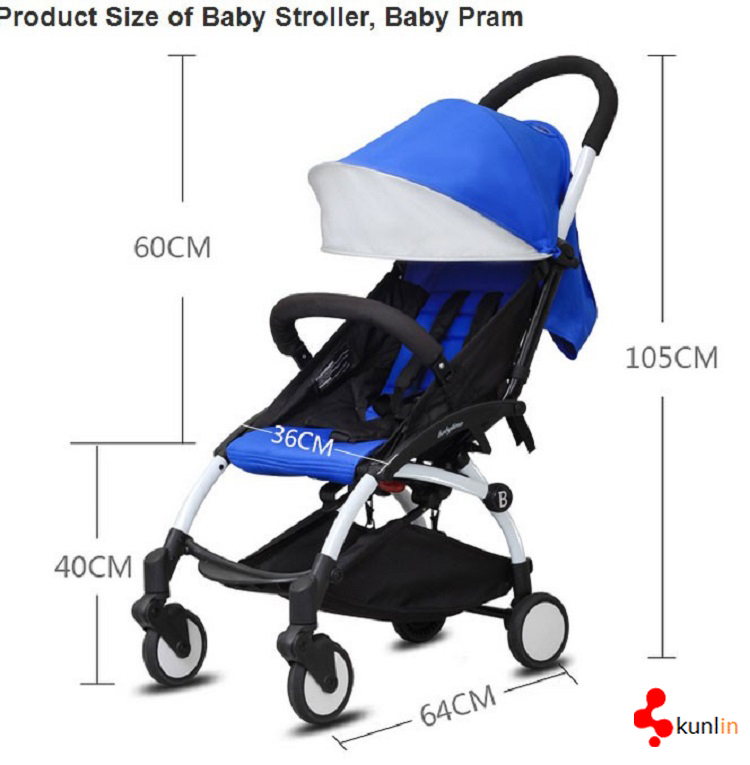 Good China Baby Stroller Manufacture New High Landscape and Foldable Baby Pram /Baby Stroller 3 in 1