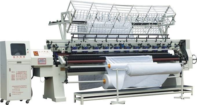 Yuxing Lock Stitch Quilting Machine, Computerized Multi-Needle Quilter Machine