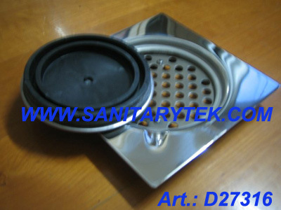 Stainless Steel Airproof Floor Drain (D27316)