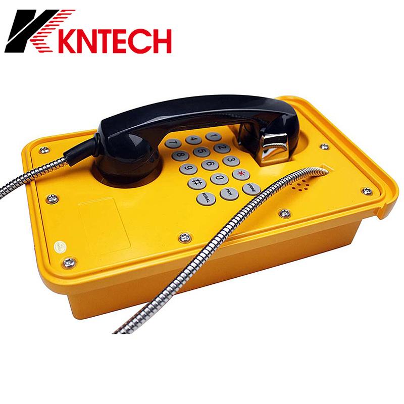 Analog Weatherproof Telephone Railway Telephone Waterproof Industrial Telephone Knsp-09
