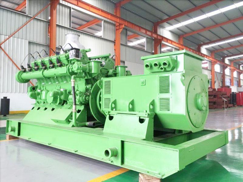 Silent Type Three Phase 60Hz New Design Gas Generator 1 MW Powered by Cummins