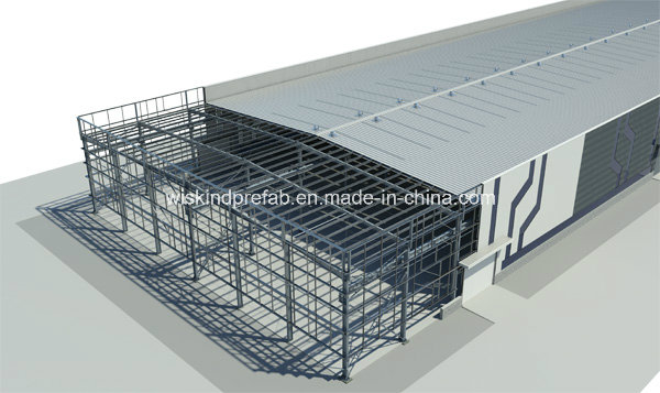 BV, SGS, ISO Prefabricated Building for Workshop