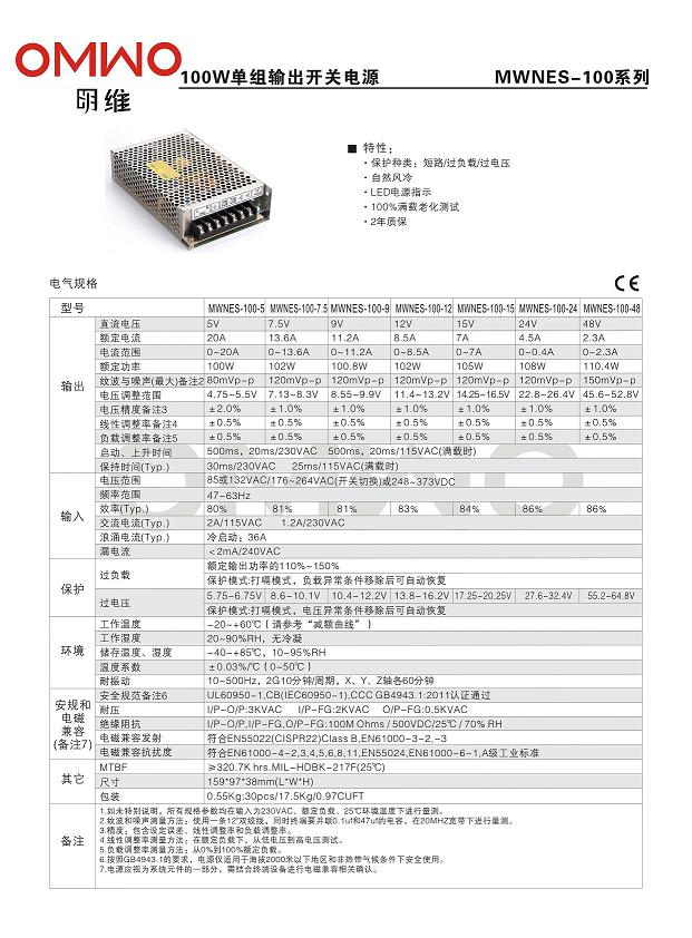 Nes-25-24 Single Output ATX LED Switched 25W 24V 1.1A AC/DC Power Supplies