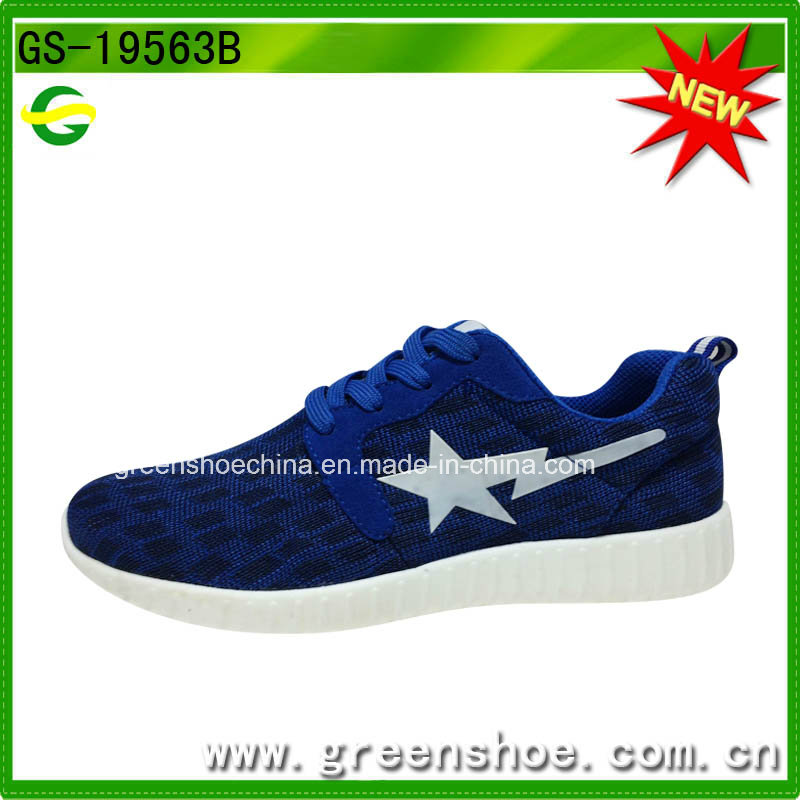 High-Quality Black Fitness Breathable Footwear Men Sport Shoes
