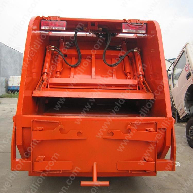 Duolika 4X2 Garbage Transportation and Sanitation Truck for Sale