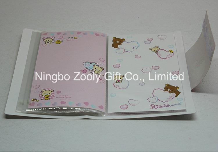 Customize Logo Printing Plastic PP / PVC 4X6