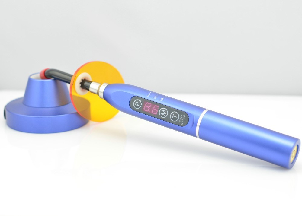 Aluminum Body Newest Colorful Dental LED Curing Light