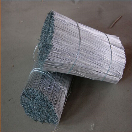 Electro Galvanized Low Carbon Straight Cut Wire