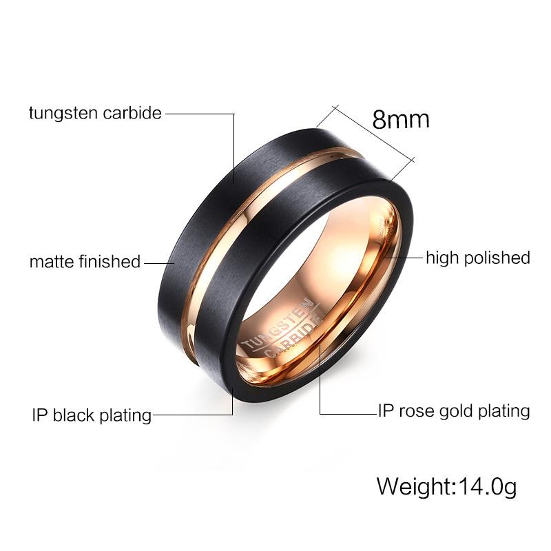 Fashion Accessories Tungsten Jewelry Fashion Ring (SR763)