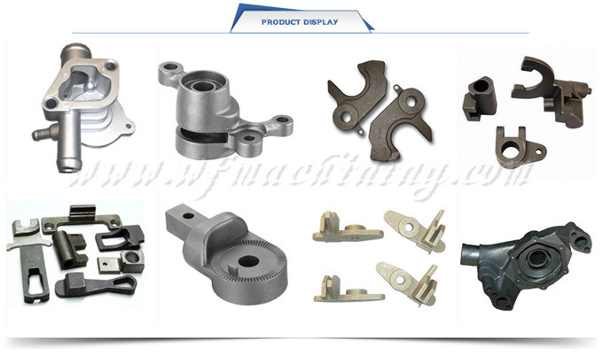 Precision Casting Foundry Investment Casting Water Pump and Valve Housing Part for Construction Machinery