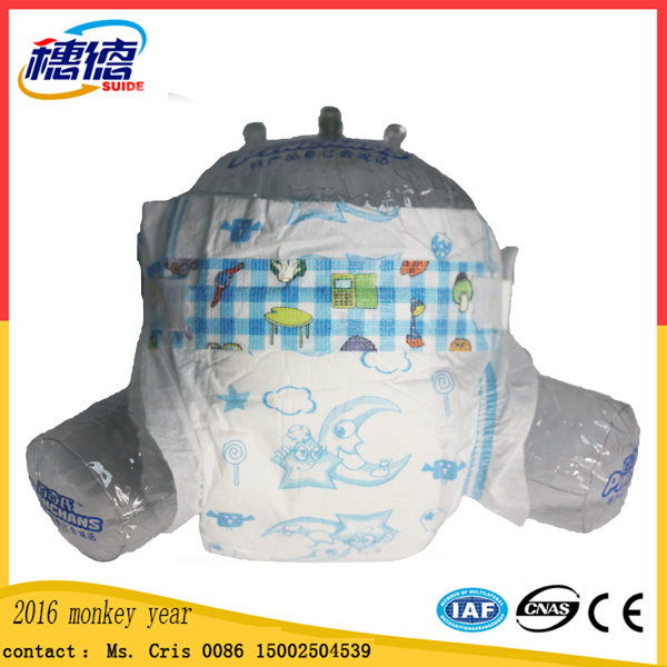 Wholesale Disposable Sleepy Baby Diaper Manufacturer in China Bd1001