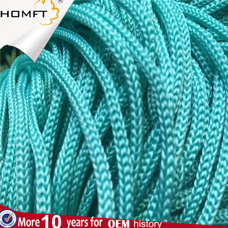 Yellow Round Polyester String Braided Rope/Cord