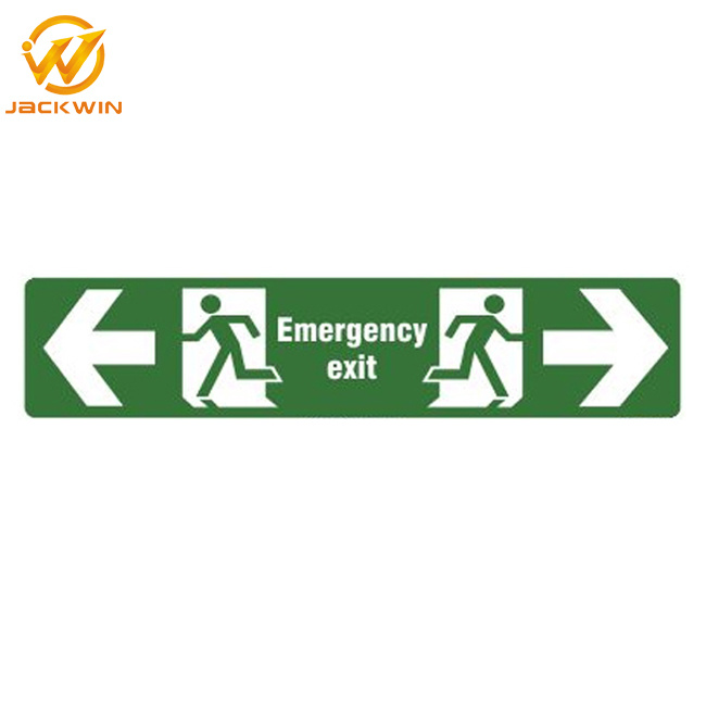 Traffic Safety Plastic Signs/Accessible Fire Exit Emergency Signs