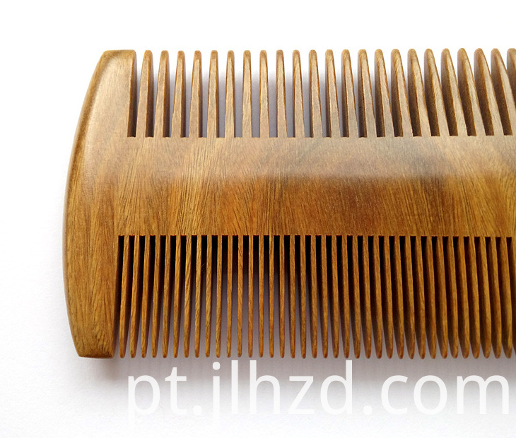 Double Sides sandalwood comb