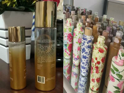 100ml Pet Plastic Facial Cleansing Foam Bottle