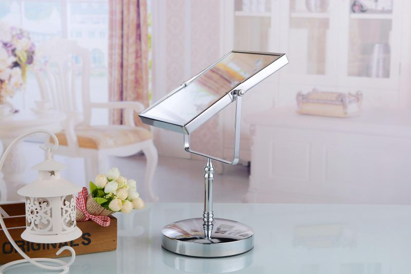 Standing Modern Rotating Metal Dressing Table Mirror