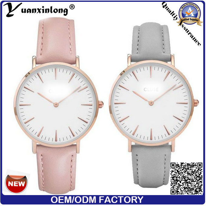 Yxl-579 Nordic Style Minimalist Markers Women Fashion Hand Watch Stainless Steel Lady Watch