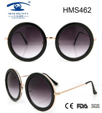 Woman Style Fashion Acetate Sunglasses (HMS462)
