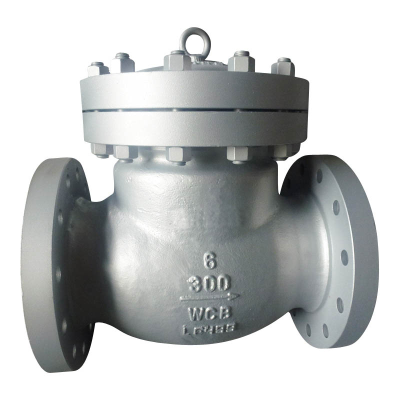 API Cast Steel Flanged Swing Check Valve (H44H-300LB)