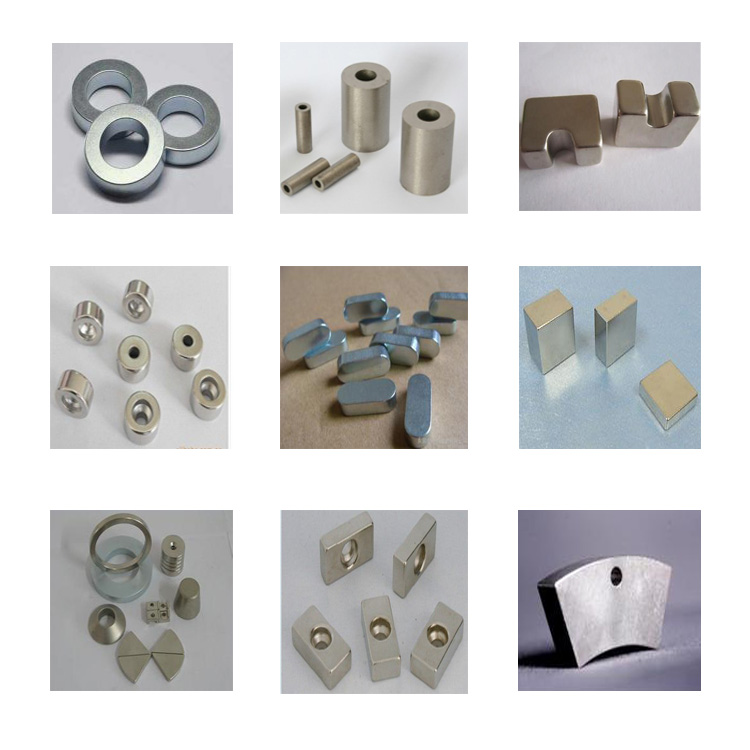 High Grades SmCo Cylinder Magnet with Hole