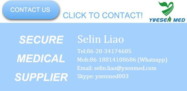 Ysav90b Medical Digital Display Mobile Hospital Ventilator