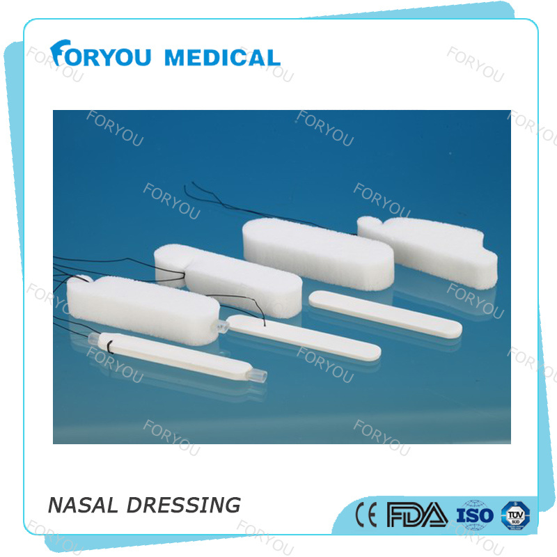 Foryou Medical Merocel Standard Dressing Nose Bleeding Stop PVA Nasal Dressing Epistaxis Nasal Packing