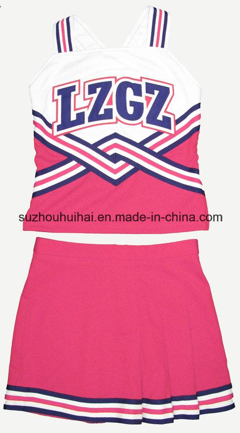 2016 Cheerleading Uniform: Shell Top and Skirt