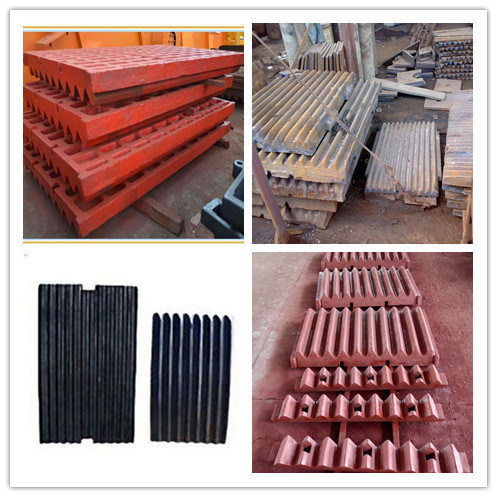 China OEM Factory Casting Parts Metso Sandvik Jaw Plate Jaw Cruhser Wear Parts