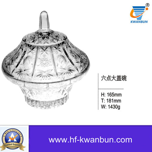 High Quality Compare Glass Salad Bowl Kitchenware Kb-Hn0378