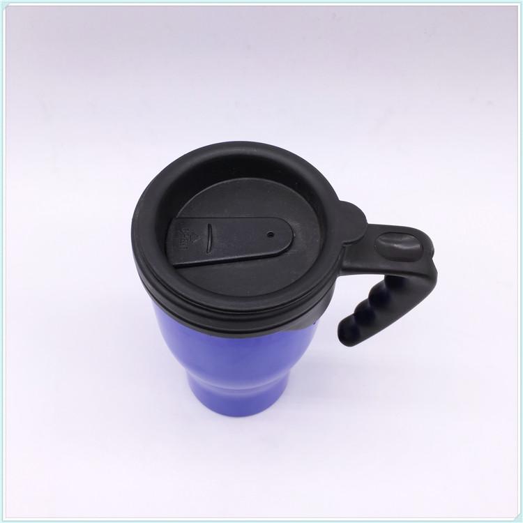 2016 New 450ml Plastic Coffee Mug with Handle