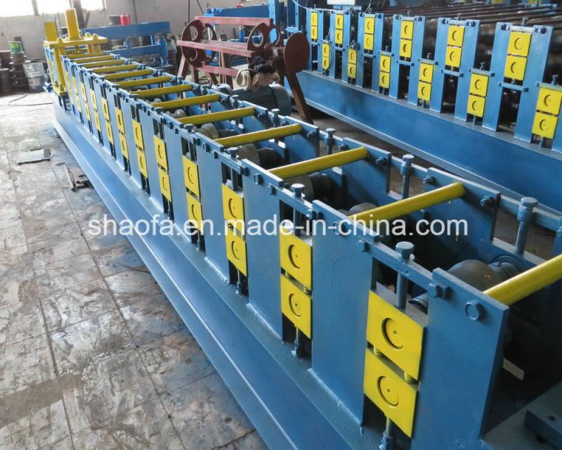 Hot Sale Steel Shaped Roller Shutter Door Roll Forming Machine