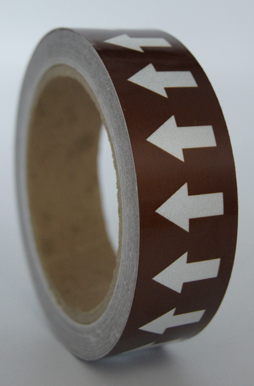 Pipe Markers Labels Glass Beads Reflective Tape with Back Adhesive