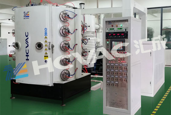Hcvac Sanitary Ware PVD Ion Coating Machine, Faucet Tap Gold Vacuum Coating Equipment