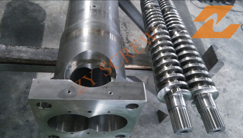 65/132 Conical Screw and Barrel