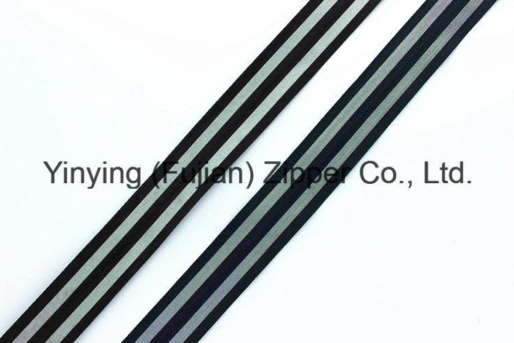 Reflective Tape Nylon Zipper (Regular and Waterproof)