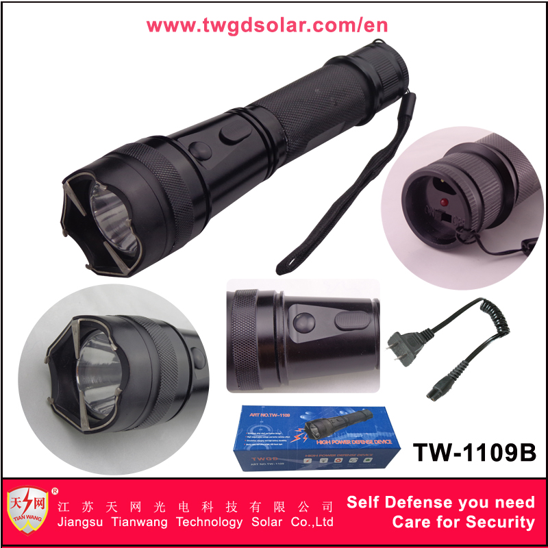 Best Quality Military Flashlight Stun Guns (1109B)