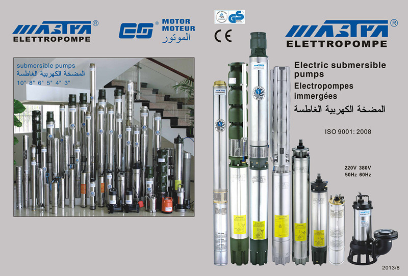 Submersible Pump Stainless Steel 4''